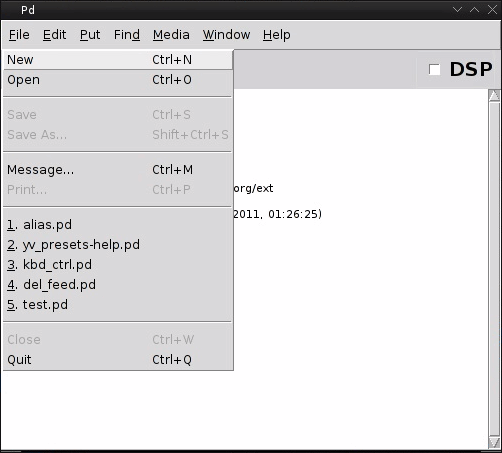 Recent files plugin